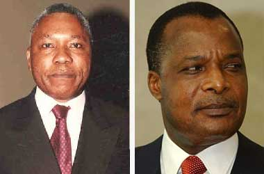 Isidore Mvouba and Denis Sassou-Nguesso