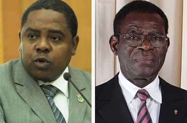 Vincente Ehate Tomi and Obiang Nguema Mbasogo